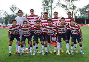 U.S. u-15 National Team - credit to Twitter user klinsmannschaft